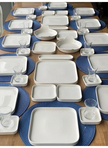 ROSSEV Kahvaltı Takımı Pure 60 Parça 12 Kişilik Renkli